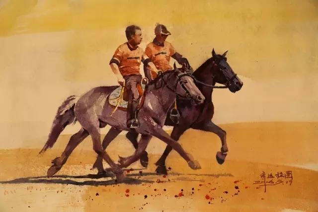 蒙古族水彩画家齐达拉图——绘画是一种信仰 第20张