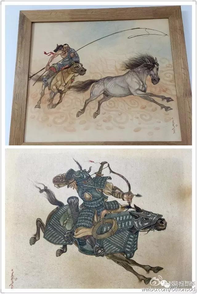 蒙古画家都仁图古斯作品欣赏 第7张