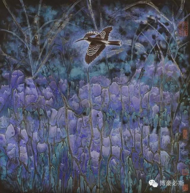 蒙古族著名画家博·豪必斯的艺术魅力 第3张