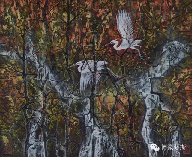 蒙古族著名画家博·豪必斯的艺术魅力 第1张