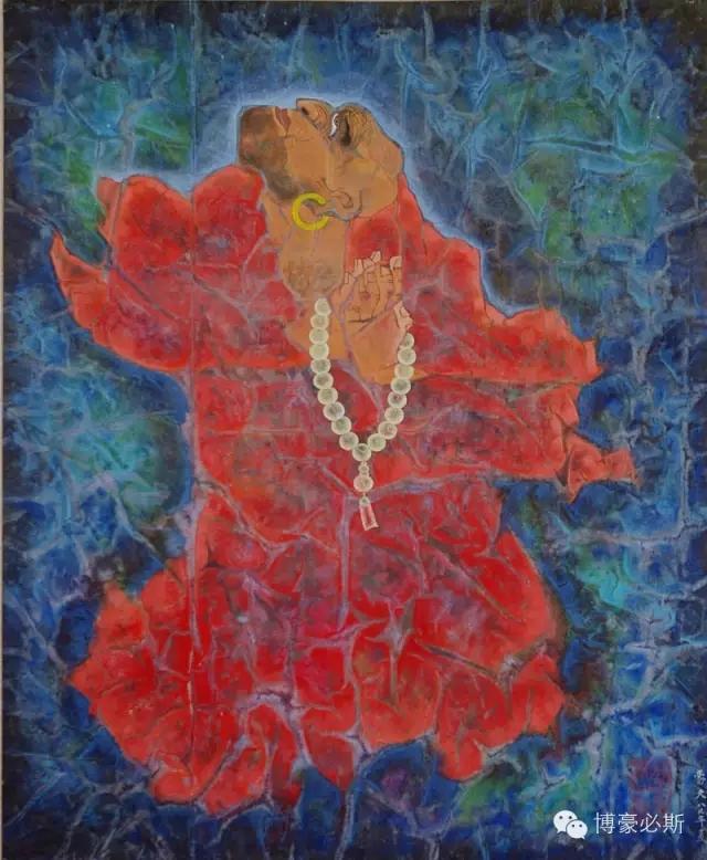 蒙古族著名画家博·豪必斯的艺术魅力 第8张