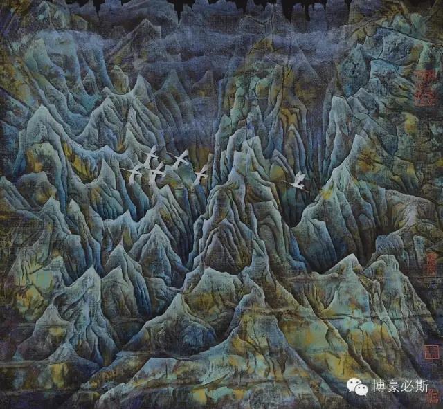 蒙古族著名画家博·豪必斯的艺术魅力 第6张