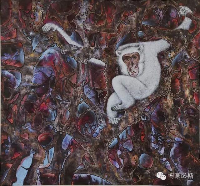 蒙古族著名画家博·豪必斯的艺术魅力 第15张