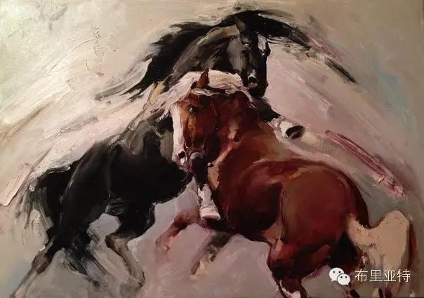 旅俄年轻蒙古画家敖特格·巴达玛作品欣赏 第4张