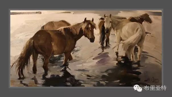旅俄年轻蒙古画家敖特格·巴达玛作品欣赏 第19张