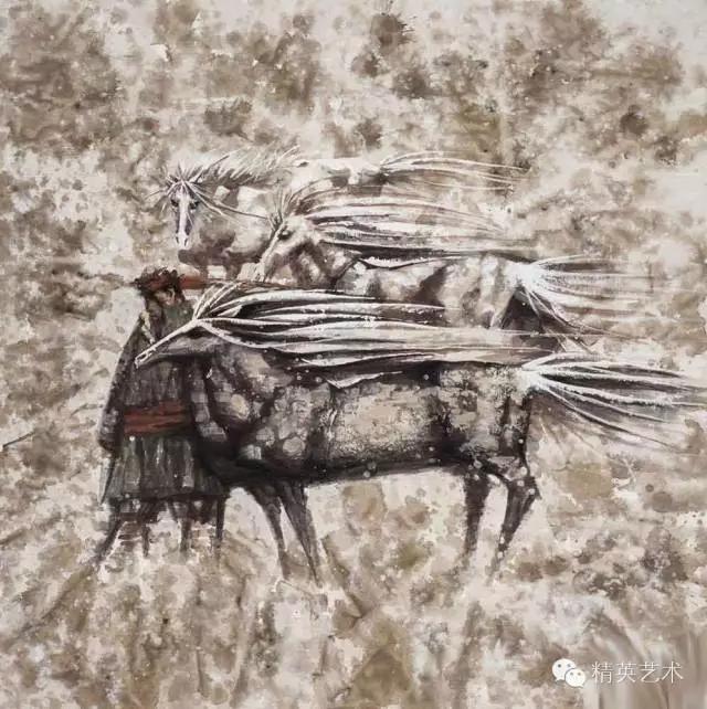 蒙古族版画家 · 国画家塔琳托娅的重彩画作品欣赏20180525_190909_343.jpg