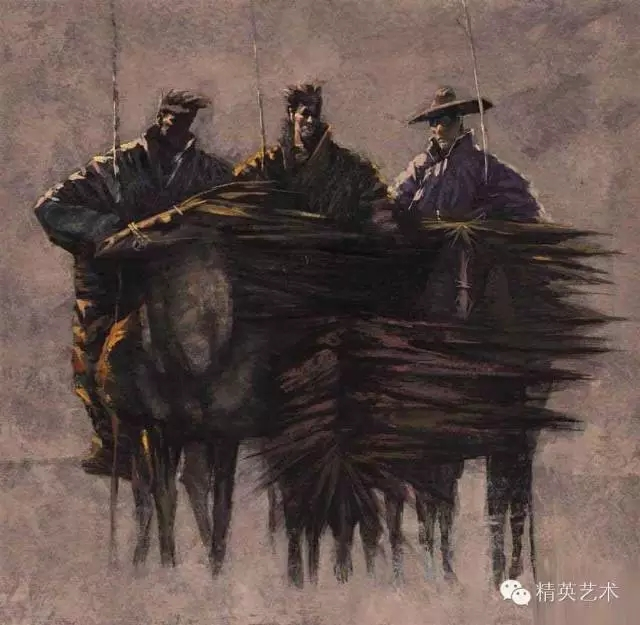 蒙古族版画家 · 国画家塔琳托娅的重彩画作品欣赏20180525_190909_355.jpg