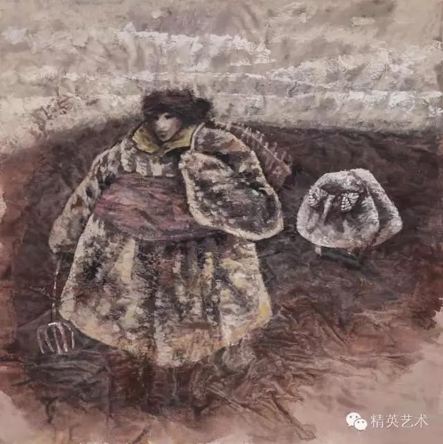 蒙古族版画家 · 国画家塔琳托娅的重彩画作品欣赏20180525_190909_357.jpg