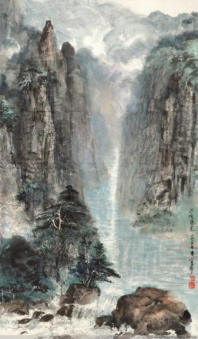蒙古族画家官布山水作品欣赏20180525_191340_361.jpg