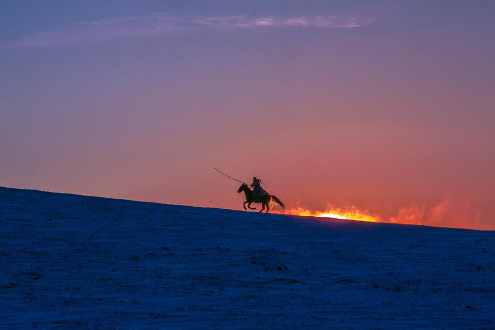 有关套马的摄影图2 第9张