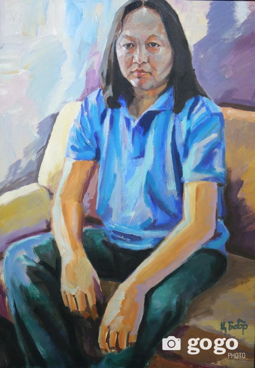 传奇摇滚乐队、流行歌手、艺术家肖像画展在蒙古国开幕 第25张