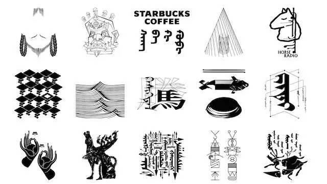 他为星巴克设计蒙古文logo,不止为了星巴克 第1张