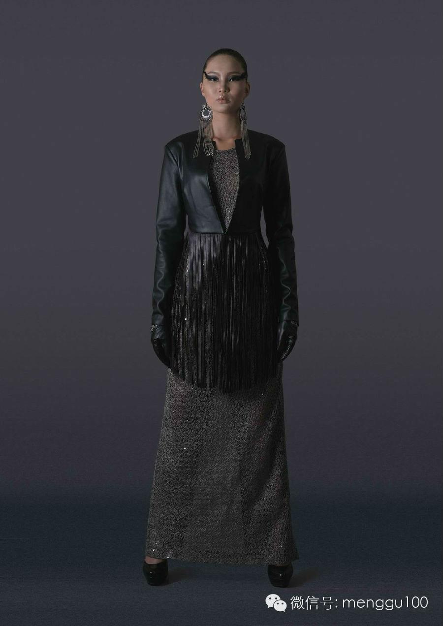【服装服饰】蒙古国本土皮装设计 第3张