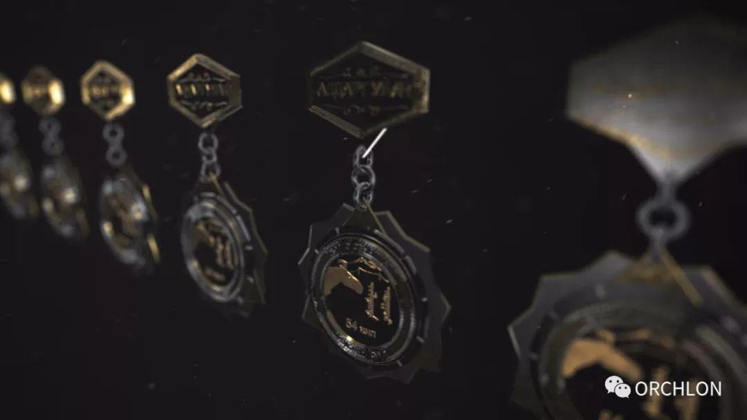 蒙古3D奖牌设计作品 第9张