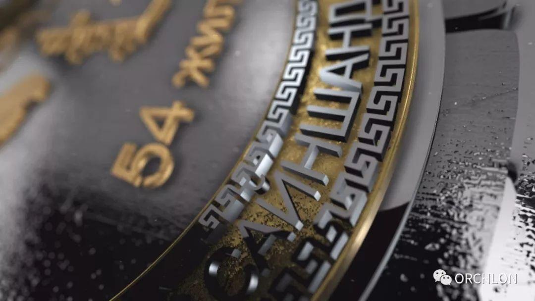 蒙古3D奖牌设计作品 第8张