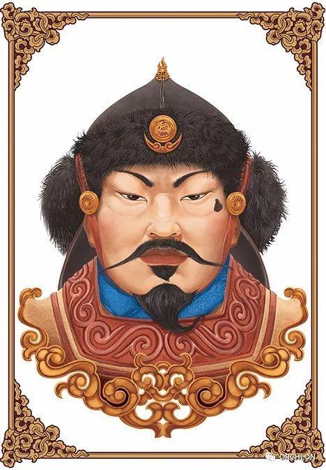 蒙古可汗画像 第6张