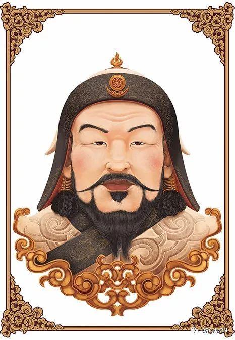 蒙古可汗画像 第8张