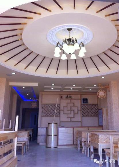 蒙古风格装饰装修设计施工完整的流程图 第23张