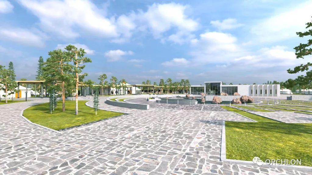 建筑设计|德国蒙古度假酒店设计 第7张