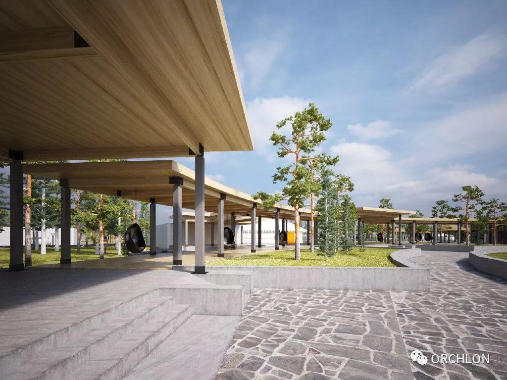 建筑设计|德国蒙古度假酒店设计 第8张