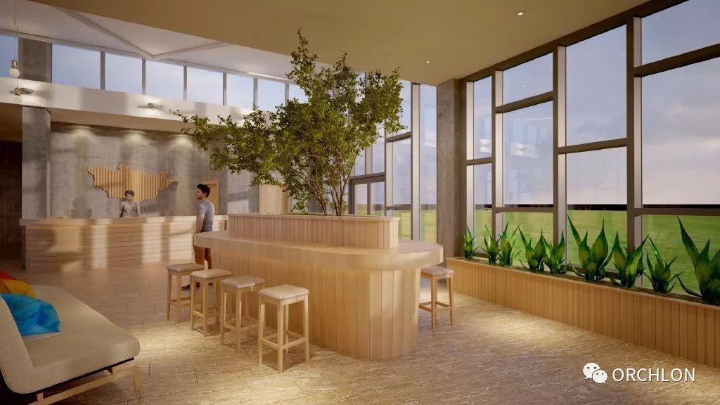 建筑设计|德国蒙古度假酒店设计 第10张