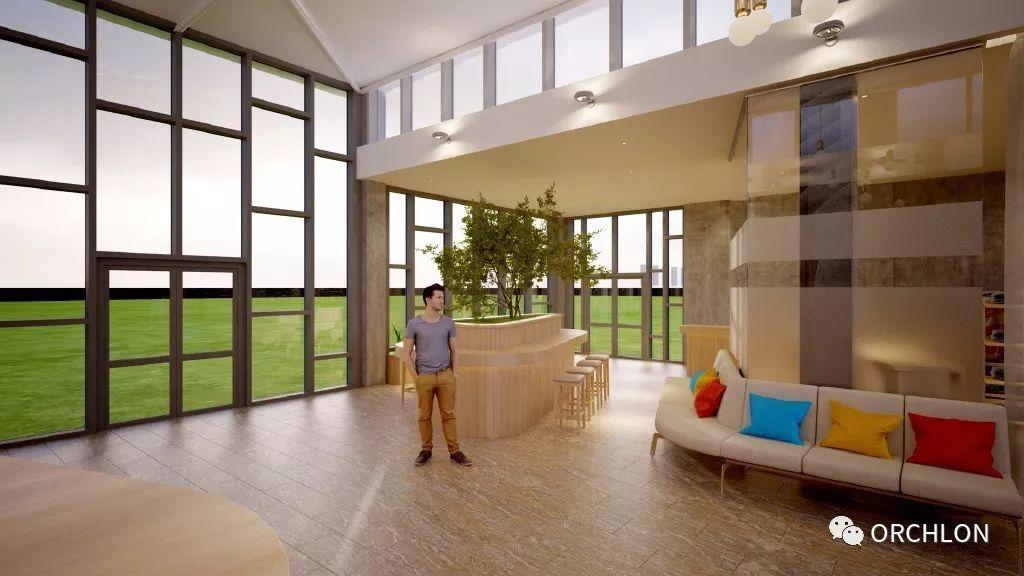 建筑设计|德国蒙古度假酒店设计 第9张