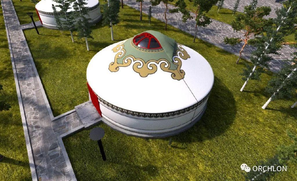 建筑设计|德国蒙古度假酒店设计 第13张