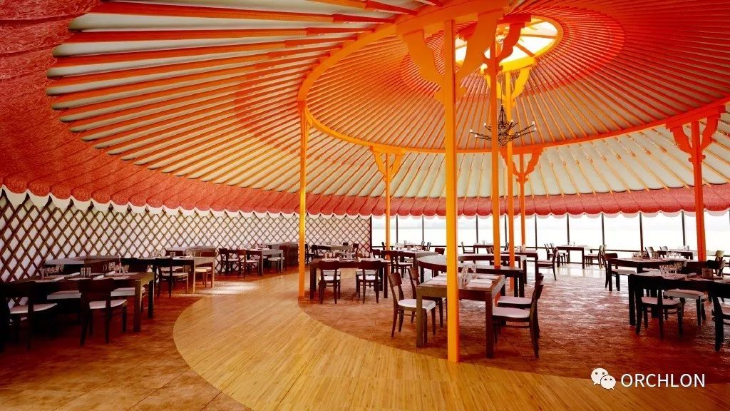 建筑设计|德国蒙古度假酒店设计 第15张