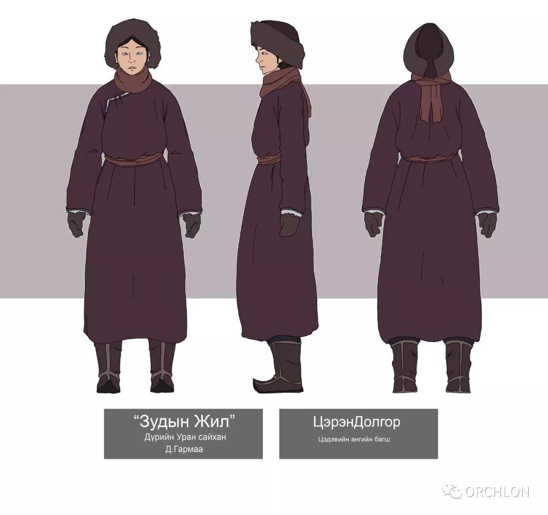 蒙古2D角色设计作品 第6张