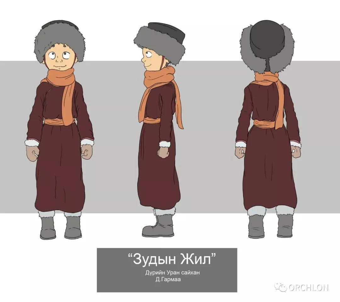 蒙古2D角色设计作品 第5张