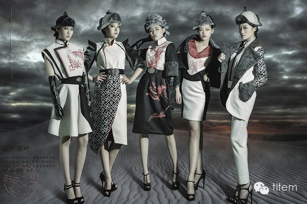 【蒙古服饰】独特的蒙古族风格服装设计作品 第4张