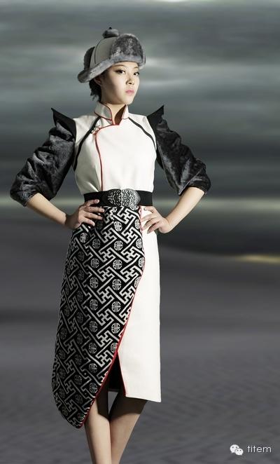 【蒙古服饰】独特的蒙古族风格服装设计作品 第5张