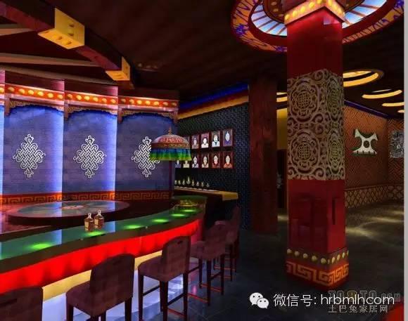 蒙古风格设计 酒吧图 第1张