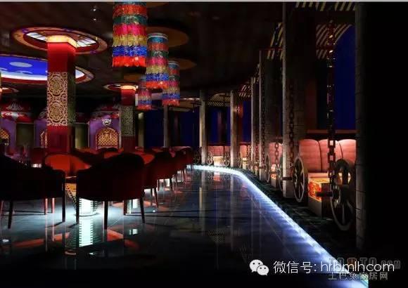 蒙古风格设计 酒吧图 第2张