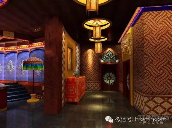 蒙古风格设计 酒吧图 第3张