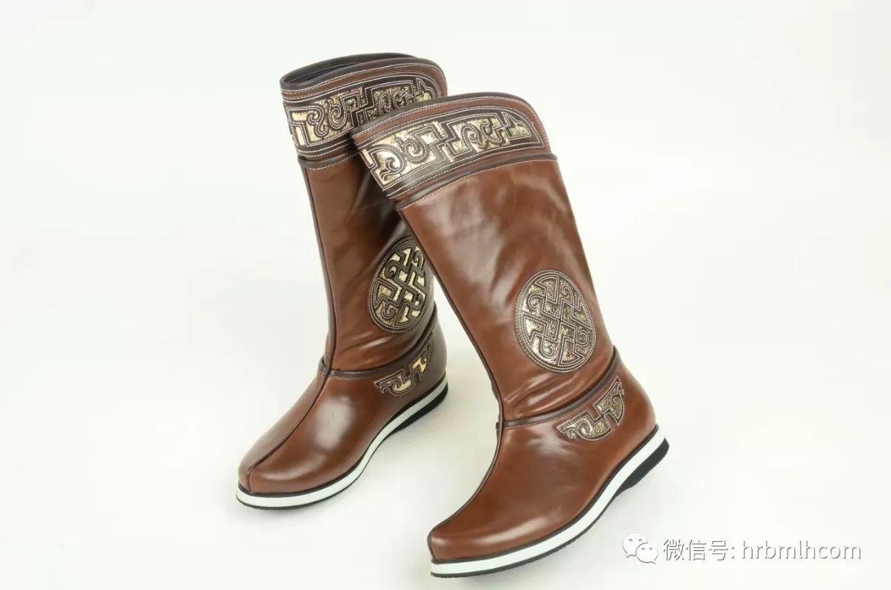 新款蒙古皮靴 第2张