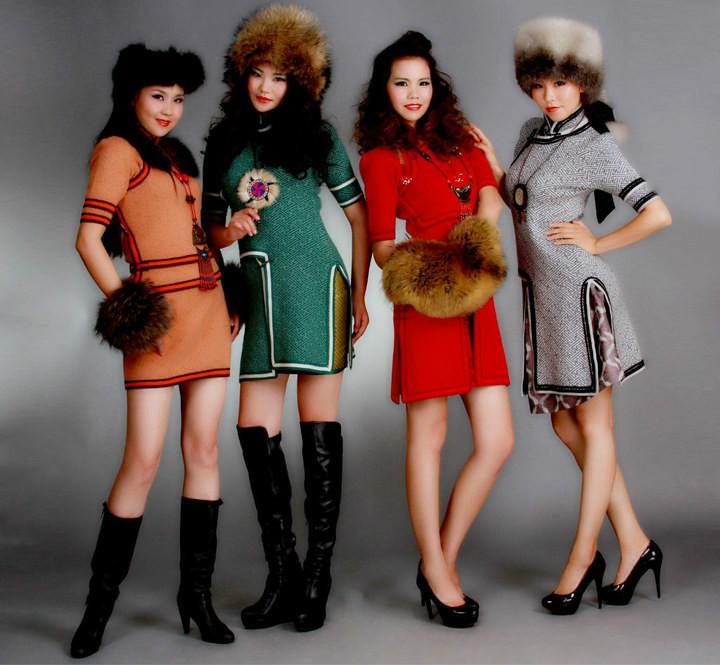 【风彩蒙古】值得借鉴!蒙古风格的时尚服装设计 第1张