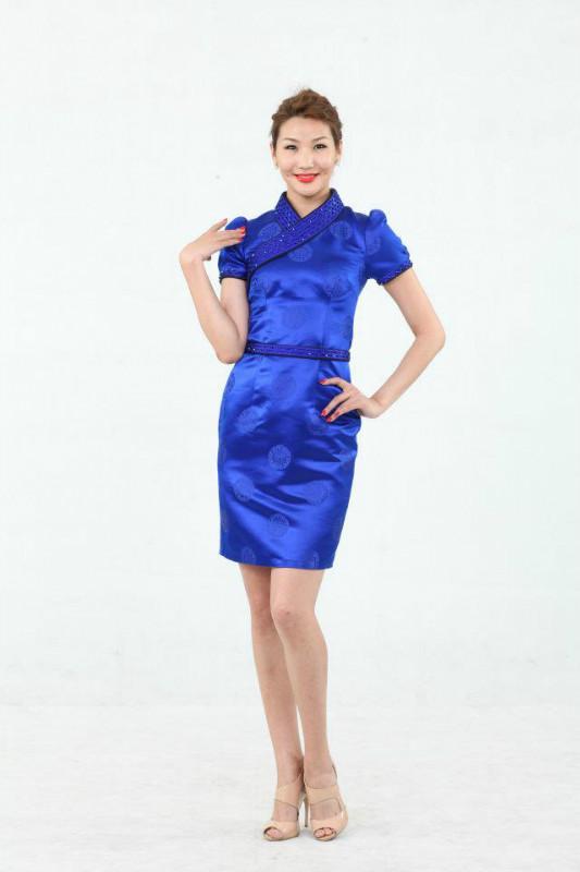 【风彩蒙古】值得借鉴!蒙古风格的时尚服装设计 第6张