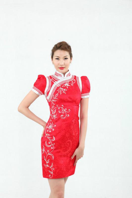 【风彩蒙古】值得借鉴!蒙古风格的时尚服装设计 第7张