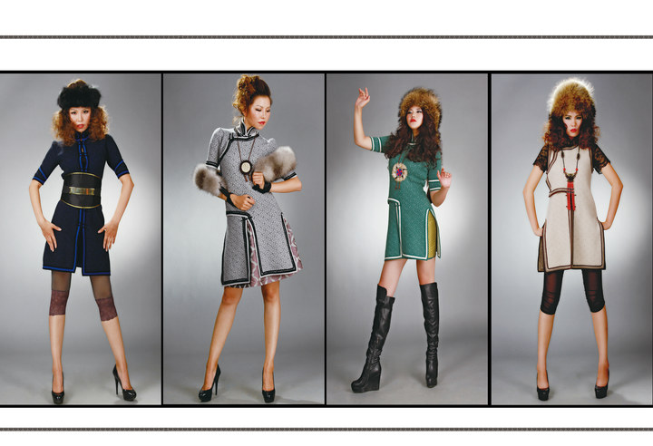 【风彩蒙古】值得借鉴!蒙古风格的时尚服装设计 第5张