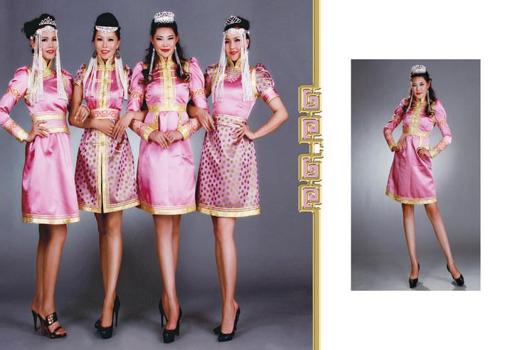 【风彩蒙古】值得借鉴!蒙古风格的时尚服装设计 第4张