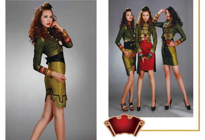 【风彩蒙古】值得借鉴!蒙古风格的时尚服装设计 第3张