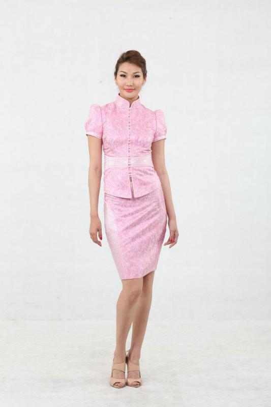 【风彩蒙古】值得借鉴!蒙古风格的时尚服装设计 第13张