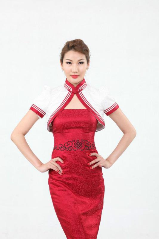 【风彩蒙古】值得借鉴!蒙古风格的时尚服装设计 第12张
