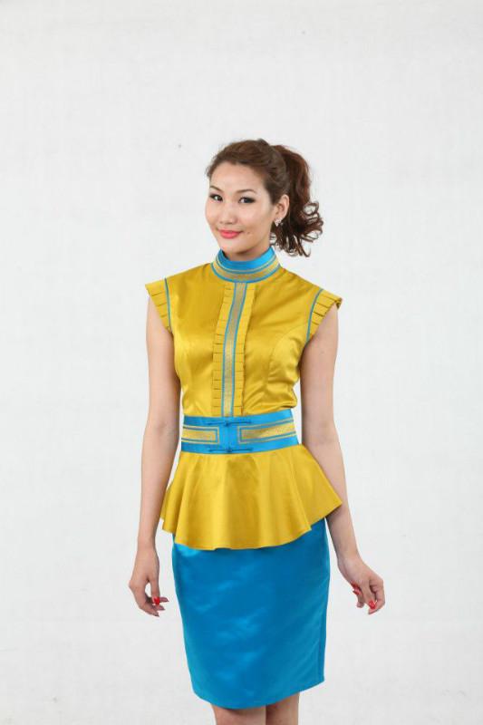 【风彩蒙古】值得借鉴!蒙古风格的时尚服装设计 第16张