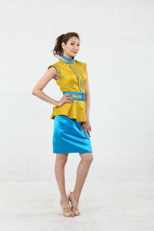 【风彩蒙古】值得借鉴!蒙古风格的时尚服装设计 第15张