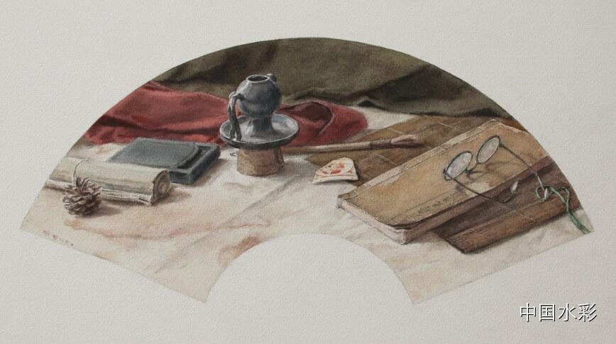 专题:内蒙古水彩师生作品展示 第2张