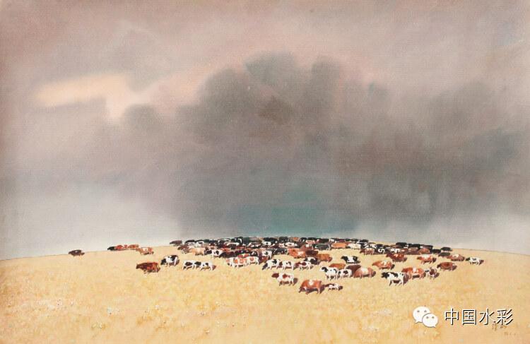 专题:内蒙古水彩师生作品展示 第10张