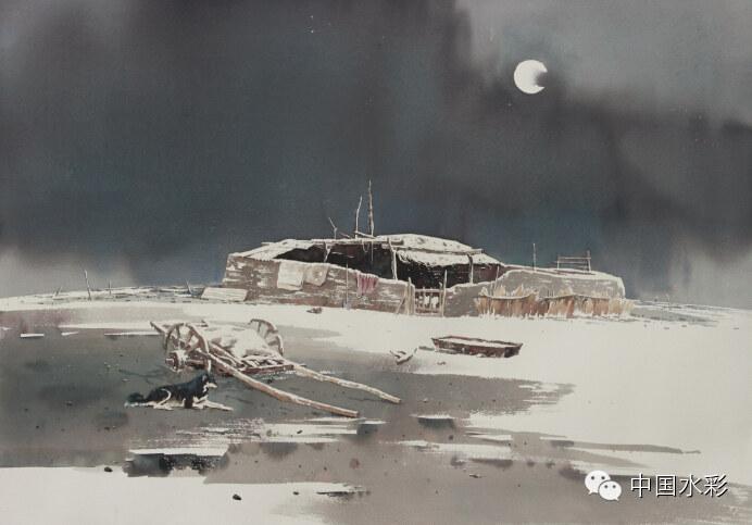 专题:内蒙古水彩师生作品展示 第11张
