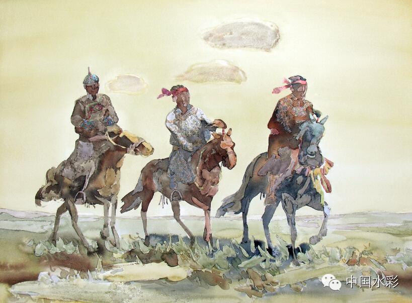 专题:内蒙古水彩师生作品展示 第16张